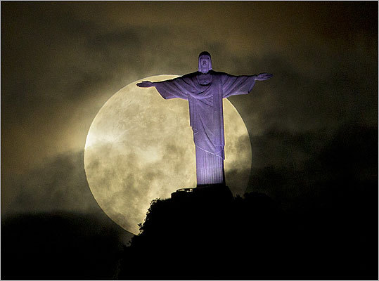 moon and christ